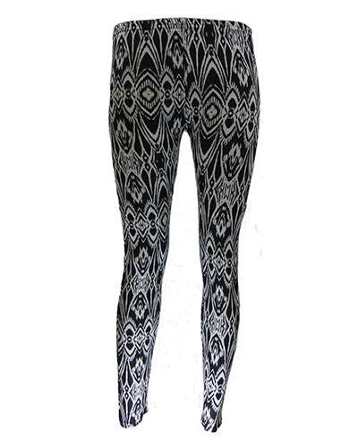 Neu Damen Skinny Konisch Softstretch Bedruckt Einfarbig Leggings Hose