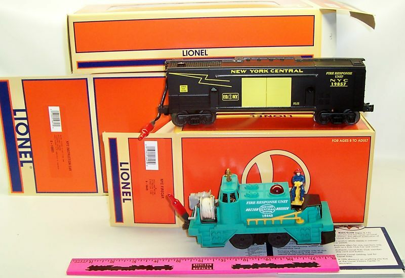 New Lionel 6-19857 NYC Instruc 6-18445 NYC Fire 6-11988