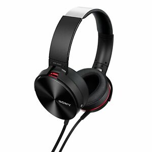 Sony MDR-XB950AP Over-Ear Extra Bass(XB) Headphones with Mic - Black (SMP4)