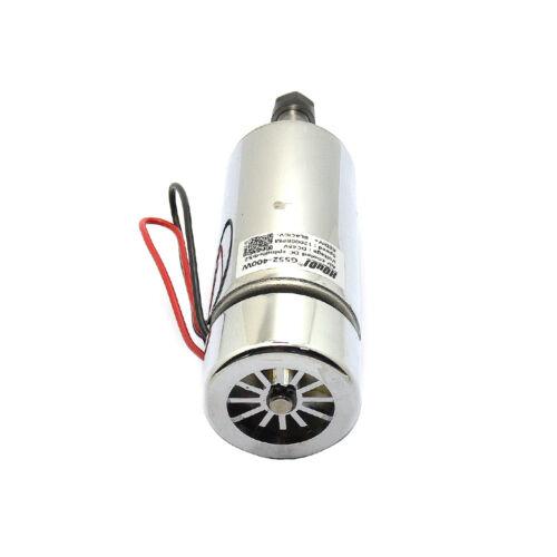 48V 400W High Speed Cooling Fan Brush Motor PCB Engraving Machine Spindle ER11