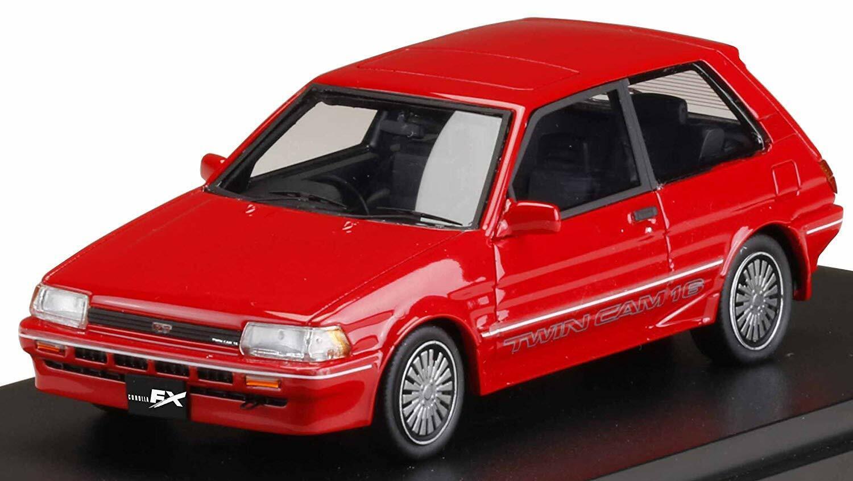 Mark 43 1 43 Toyota Corolla FX-GT (AE82) PM43108R rosso con seguimiento Nuevo