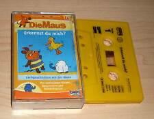 Die Maus - Erkennst du mich? Hörspielkassette MC - Lachgeschichten für Kinder