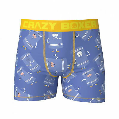 Mens 2-Pack Boxer Briefs Polyester Underwear Trunk Underwear with Sloth with Leaves Design