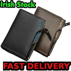 2-in-1-Wallet-and-Card-Holder-Men-Men-039-s-Mens-Designer-Fashion-Great-Quality-Faux