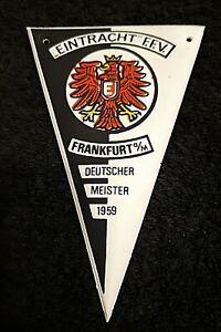 RAR-Mini-Wimpel-Eintracht-Frankfurt-Nescafe-11-x-7-cm-Bundesliga-Fussball-SGE
