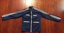 Vintage Adidas Windbreaker Jacket 3 Stripe Sleeves Men's small