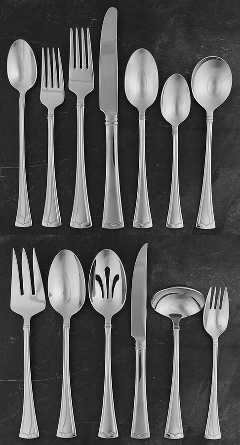 Lenox FONTHILL (STAINLESS) 112 Piece Set 11571599