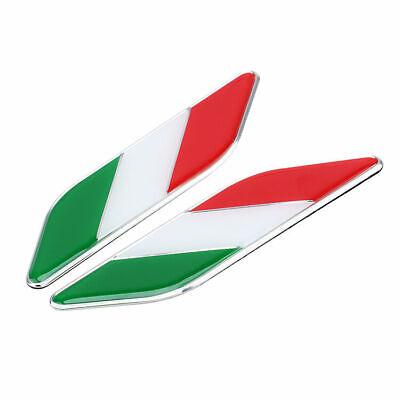 2pcs Car Country Flag Logo Emblem Stickers Side Fender Metal Decal Badge Hot