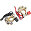 thumbnail 6 - 2x Car Battery Quick Release Clamp Joint Battery Pile Head Brass Clamp Terminal