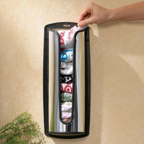 Stainless Steel Grocery Bag Holder by RC Collection