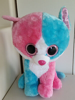 2014 Justice Exclusive NEW MWMT 6 Inch Ty Beanie Boos ~ FIONA the Cat