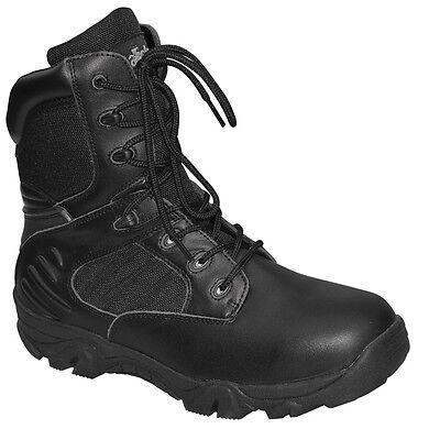 Army Kampfstiefel Delta Force Boots Stiefel mit BW Reißverschluß Springerstiefel