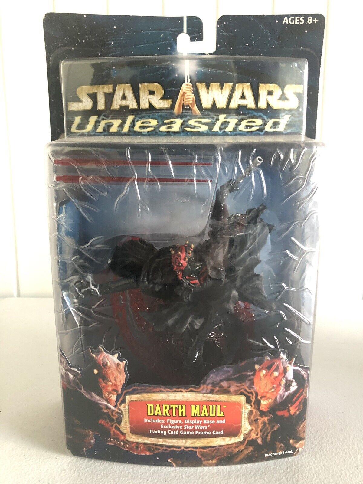 Star Wars Unleashed Darth Maul 2002 sealed -
