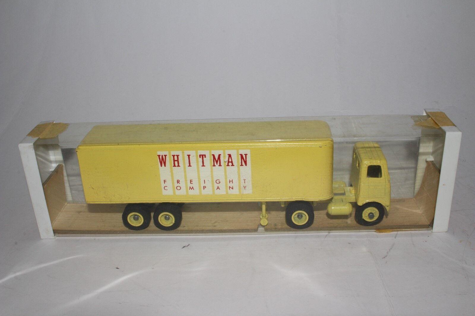 597ms Camion Winross Whitman Merci Co Semi Camion con Scatola, Nice Originale