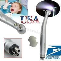 Dental Poer Led High Fast Speed Handpiece Standard Push Button 3w 4 Hole Fit Nsk