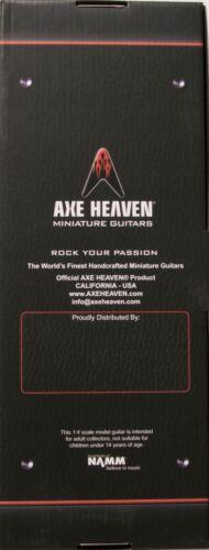 DD-001 Axe Heaven Dimebag Lightening 1//4 scale Miniature Collectible Guitar