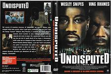 UNDISPUTED - QUANDO IL CORAGGIO DI UN UOMO DIVENTA LEGGENDA (2002) dvd ex nolegg
