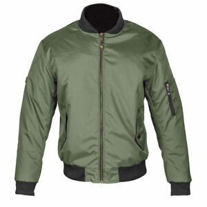 Spada-Air-Force-One-Moto-Textile-Protection-Veste-Doublee-Olive