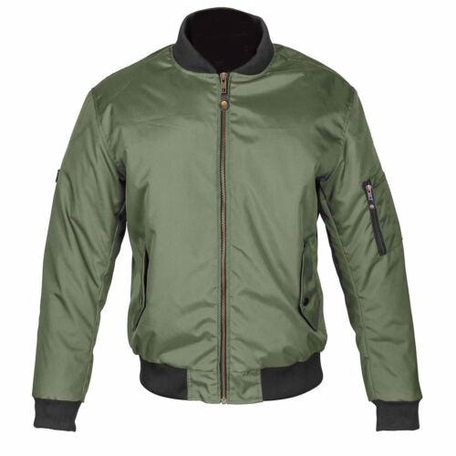 Veste textile doublée veste en blindée moto Air One Force Spada pour Olive qSaqZ