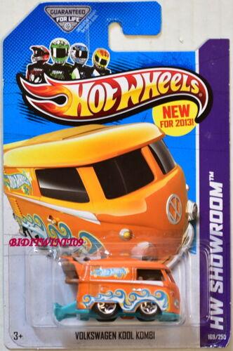 Hot Wheels 2013 Hw Ausstellungsraum Heiß Lkws Volkswagen Kool Kombi Orange