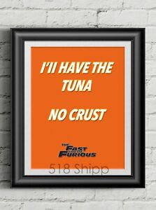 The-Fast-and-the-Furious-Tuna-Art-Print-Movie-Poster-Vin-Diesel-Paul-Walker