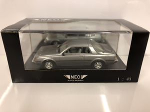Mitsubishi Sapporo Coupé Mk1 Plateado 1 43 Escala Neo 43440