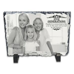 Personalised-Five-Generations-Family-Rock-Slate-Photo-Frame-Rectangle