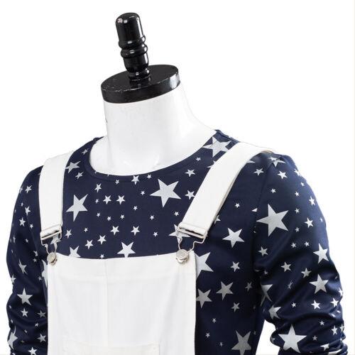 Rocketman Elton John Cosplay Costume Complete Outfit Halloween White Braces Suit