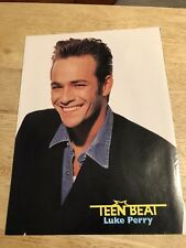 1990s Teen Magazine  PinUp Page - LUKE PERRY / BRIAN AUSTIN GREEN
