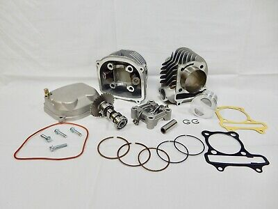 58.5MM Big Bore Cylinder Kit GY6 152QMI 157QMJ Znen Roketa Baotiao ATV Kart