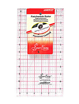 Tacony Corporation SewEasy Square Quilt Ruler x 6.5-inch