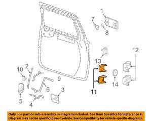 Hummer Gm Oem 03 09 H2 Door Hinge Left 15771319 Ebay