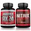 Anabolic-RX24-Testo-Muskelaufbau-Testosteron-Steroid-extrem-Kapseln-Booster Indexbild 1