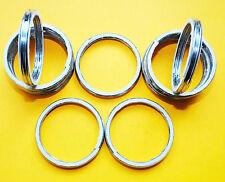 ALLOY EXHAUST GASKETS SEAL GASKET RING RVF400 NC35 NR750 RC40 RVF750 RC45  A40