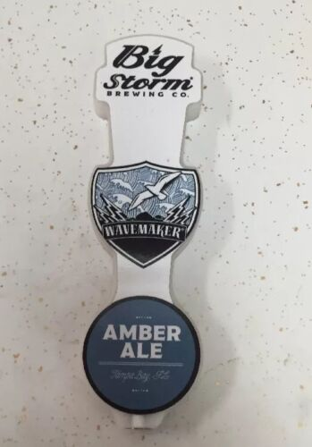 Big Storm Brewing Company WaveMaker Beer Tap Handle Pub Man Cave