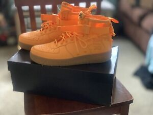 meet ed9a5 615eb Image is loading NIKE-SF-AF1-Mid-OBJ-Odell-Beckham-JR-