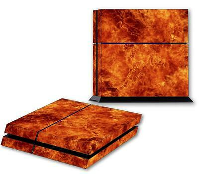 Cheap Sale Fire Flames Ps4 Skin Vinyl Decal Playstation 4 Console Designer Sticker 199 Preventing Hairs From Graying And Helpful To Retain Complexion