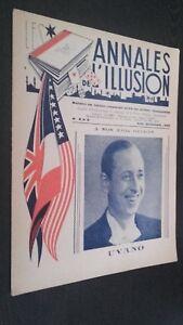 Las Anales ILUSIÓN N º 8 & 9 París 1945 ABE