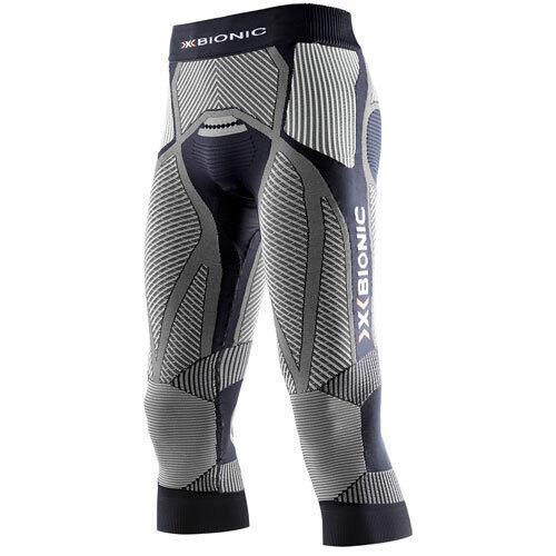 X-bionic señores  de ejecución pantalones Corriendo man Pants Training pantalones the truco negro blancoo  Entrega directa y rápida de fábrica