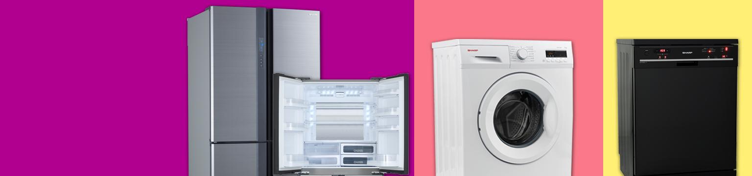Sharp Haushaltsgeräte bis zu 40% ggü. UVP