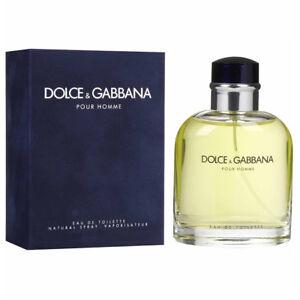 b55637e4 D & G Dolce & Gabbana Pour Homme For Men Eau de Toilette 6.7 oz ...