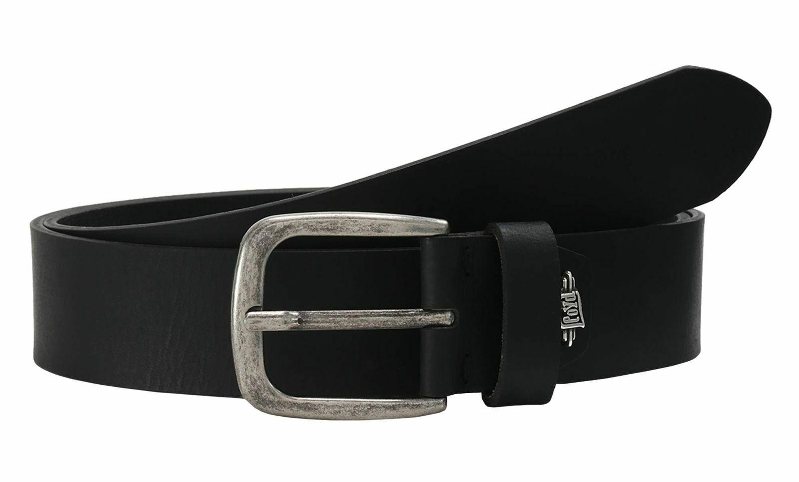 LLOYD Buffaloleather Belt 4.0 W85 Gürtel Accessoire Black Schwarz