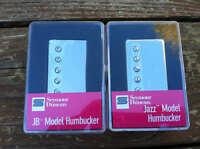 Seymour Duncan Jb Jazz Hot Rodded Pickup Set Humbucker Sh-4 Sh-2n Nickel -