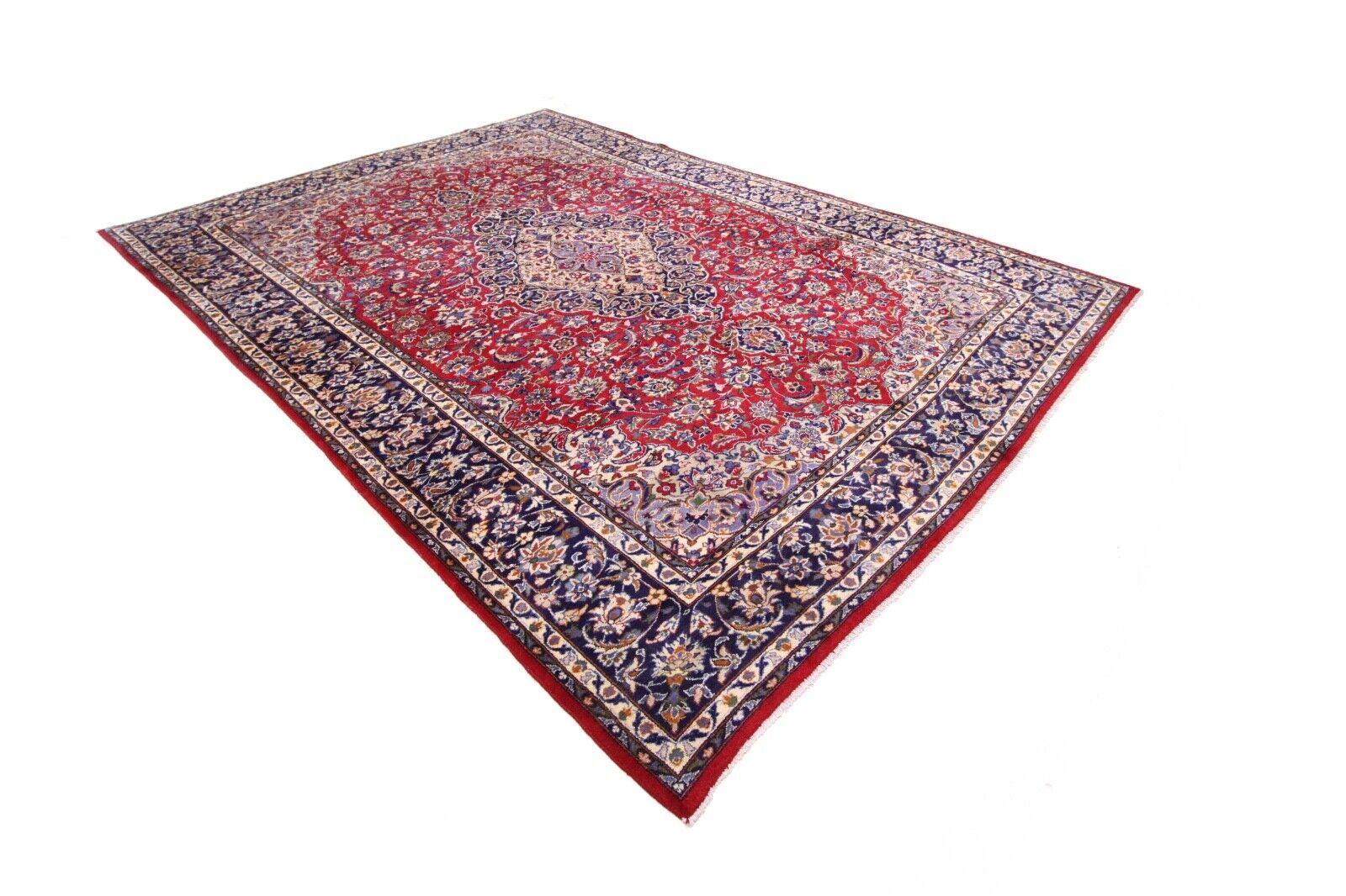 Hermoso Alfombra Persa Isfahan 405 X 289 Estado Perfecto Nr.55