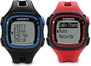 Garmin Forerunner 15 GPS Fitness Running Sport Watch Large 010 01241 00