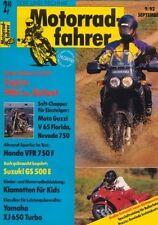 MF9209 + Test CAGIVA 900 i.e. Elefant + HONDA VFR 750 F + Motorradfahrer 9/1992