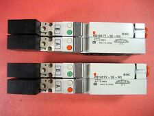 SMC   -   VQ1431Y-5E-N3  -  VALVE SOLENOID   (Used - Lot of 2 Each)