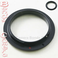 58 MM 58MM Macro Reverse Lens Adapter Ring For Canon EOS mount EF DSLR camera
