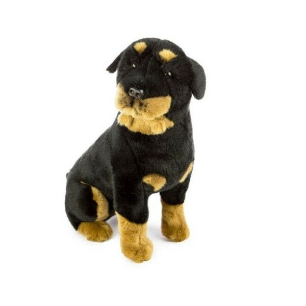 Bocchetta 40cm Black Dog Soft Animal Plush Toy - Razor