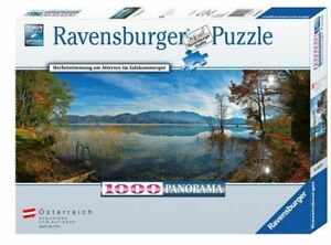 HERBSTSTIMMUNG AM ATTERSEE - Ravensburger Panorama Puzzle 89347 - 1000 Pcs.